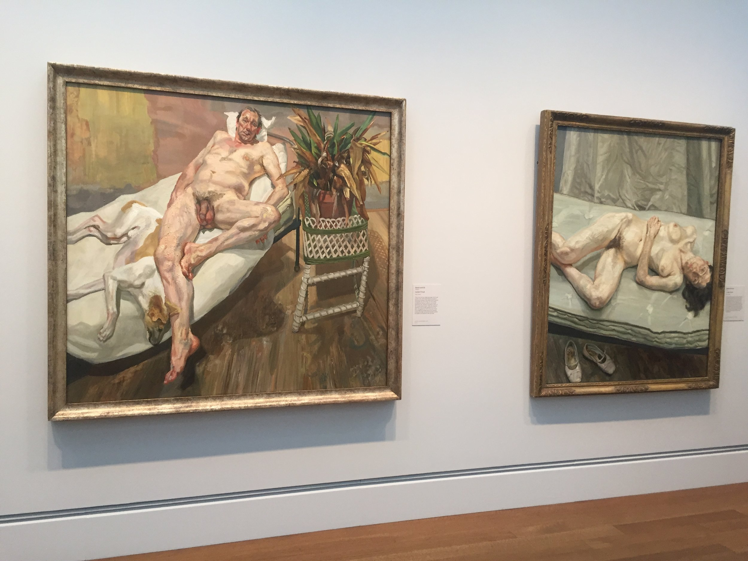"""The painter's obsession with his subject is all that he needs to drive him to work"" - Lucian Freud"