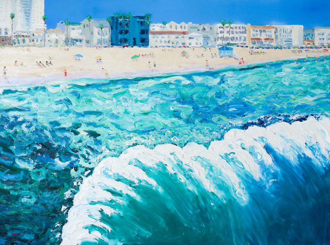 Palm Trees Long Beach, Stephanie Burns 2016