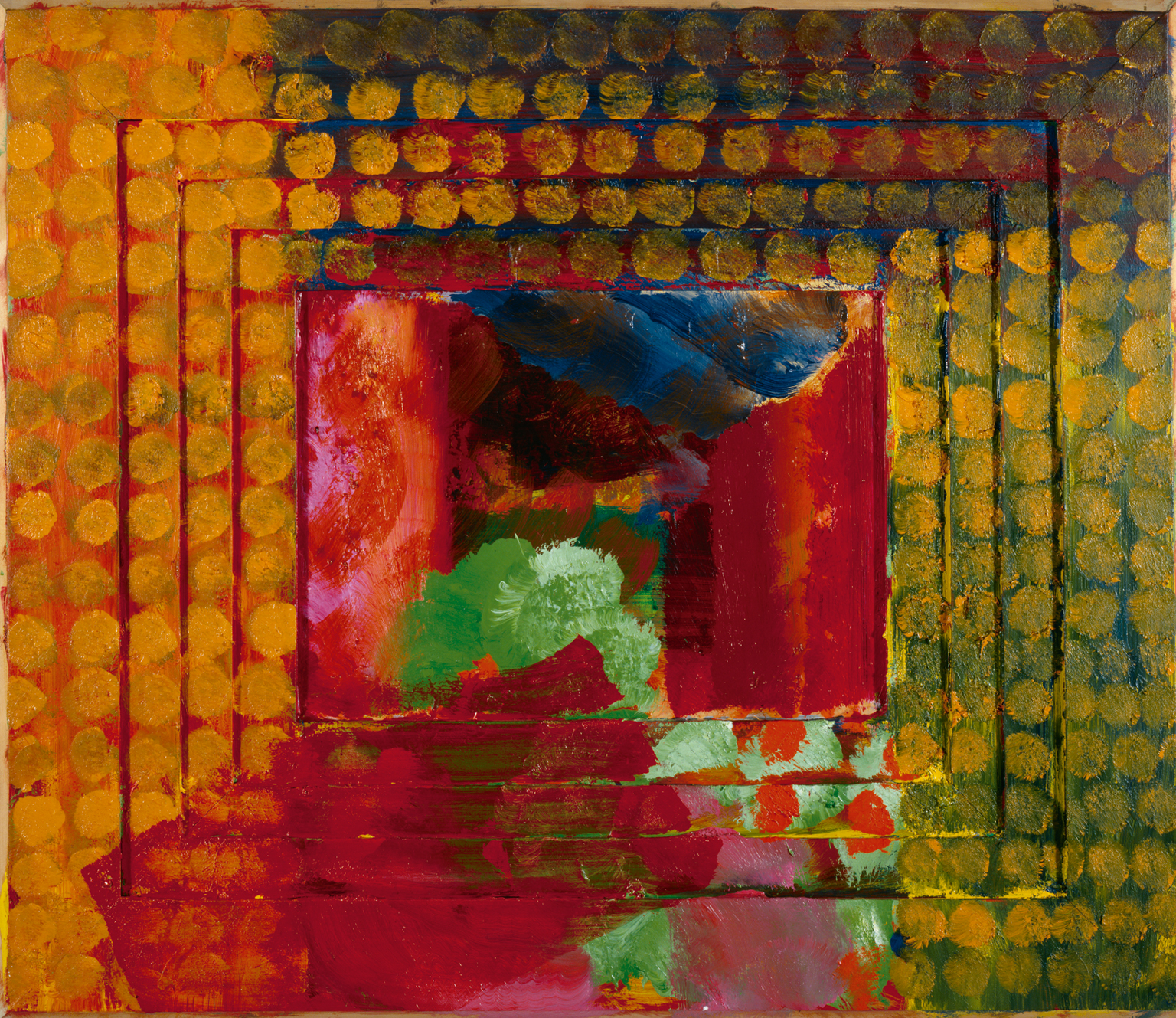 Self Portrait Of The Artist , Howard Hodgkin