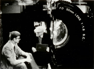 Peter Fuller & David Hockney