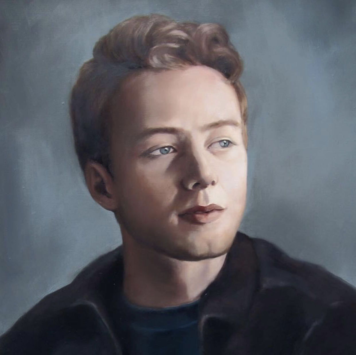 Portrait of Laurence Fuller by Heidi Yardley