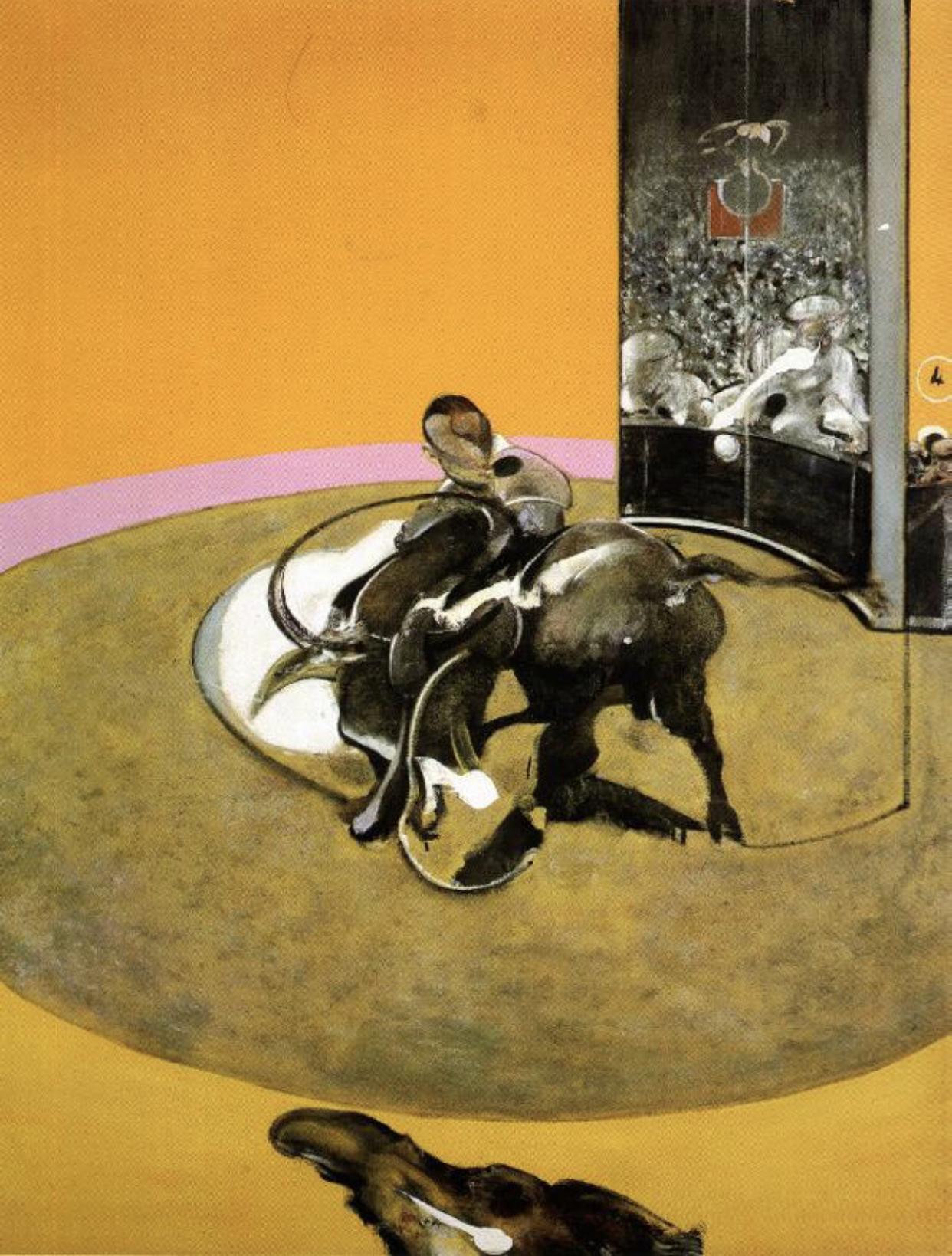 Bullfight by Francis Bacon