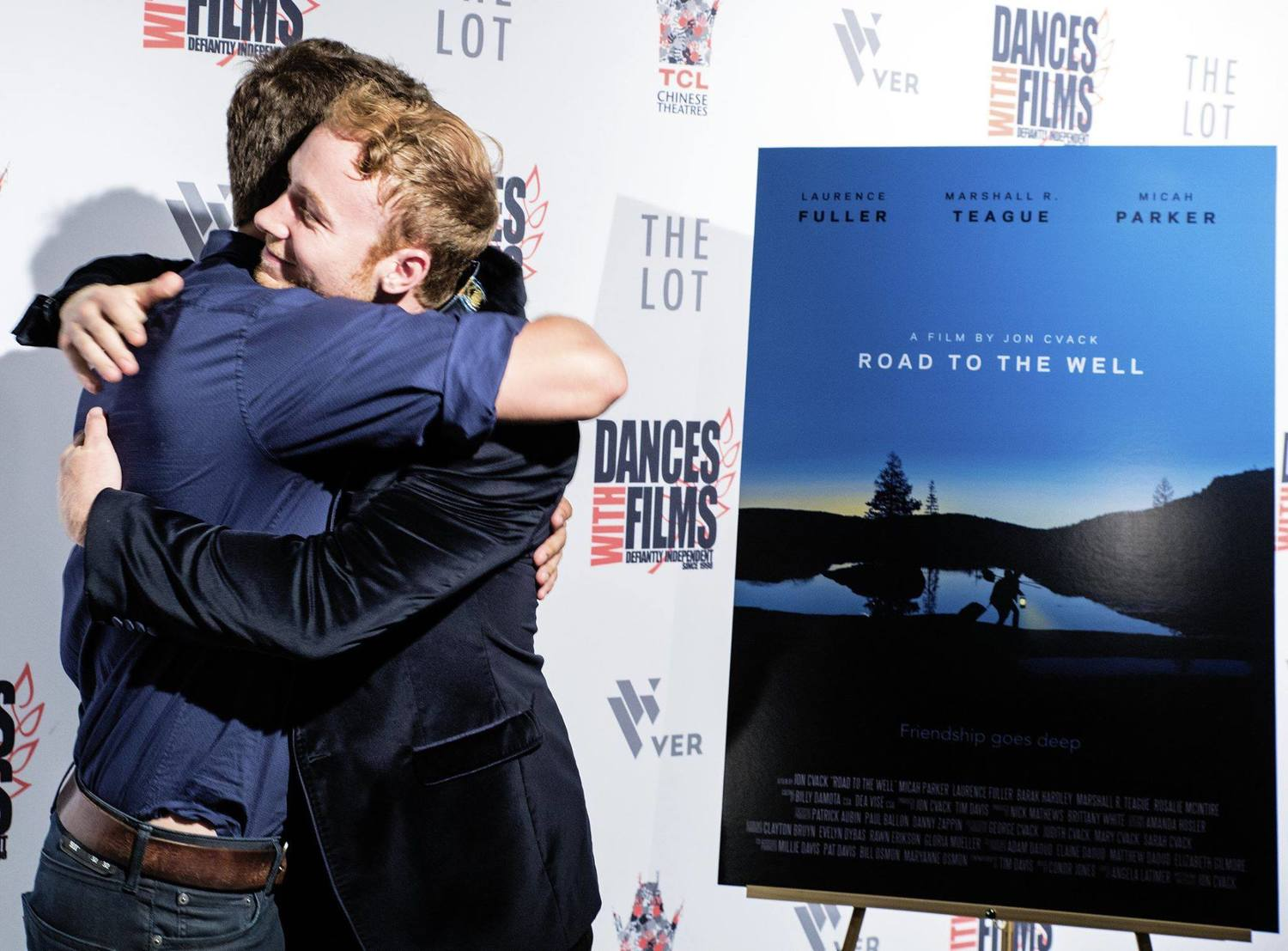 Jon Cvack & Laurence Fuller at the Dances With Films premiere of Road To The Well