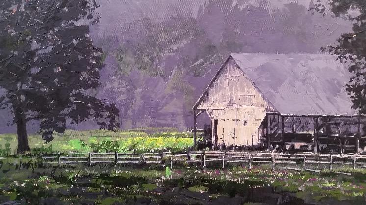"""Valley Farm"" by Dan Rickards"