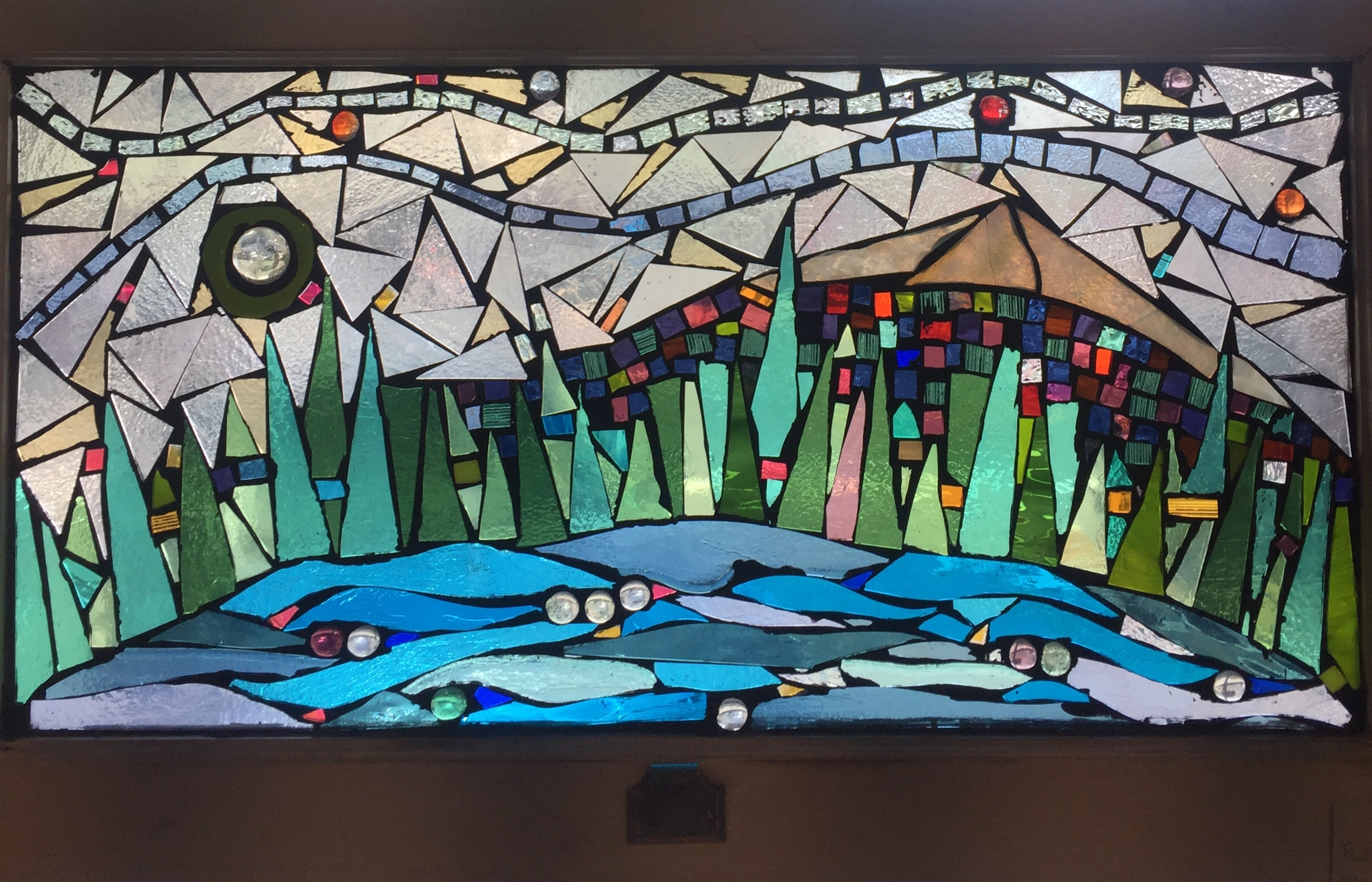 Rolling River, 16 x 28 $750