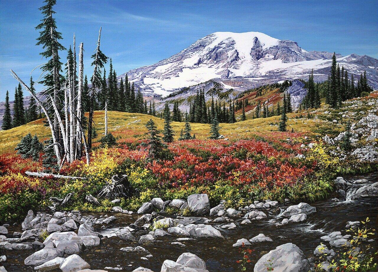 """""""Adventure on Wonderland"""" - Mt. Rainier National Park"""