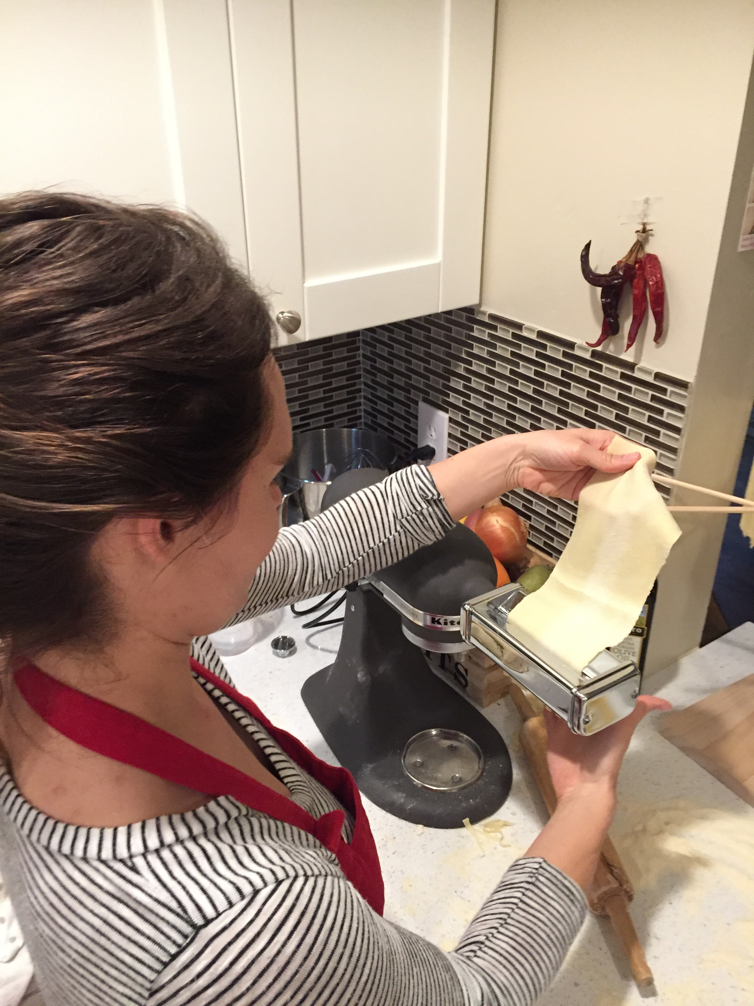 Making Pasta with Chef Kathryn