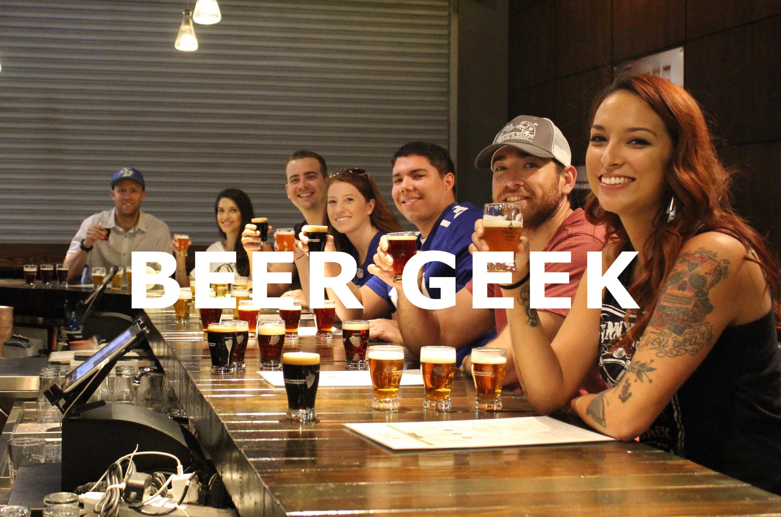 Beer Geek Tour