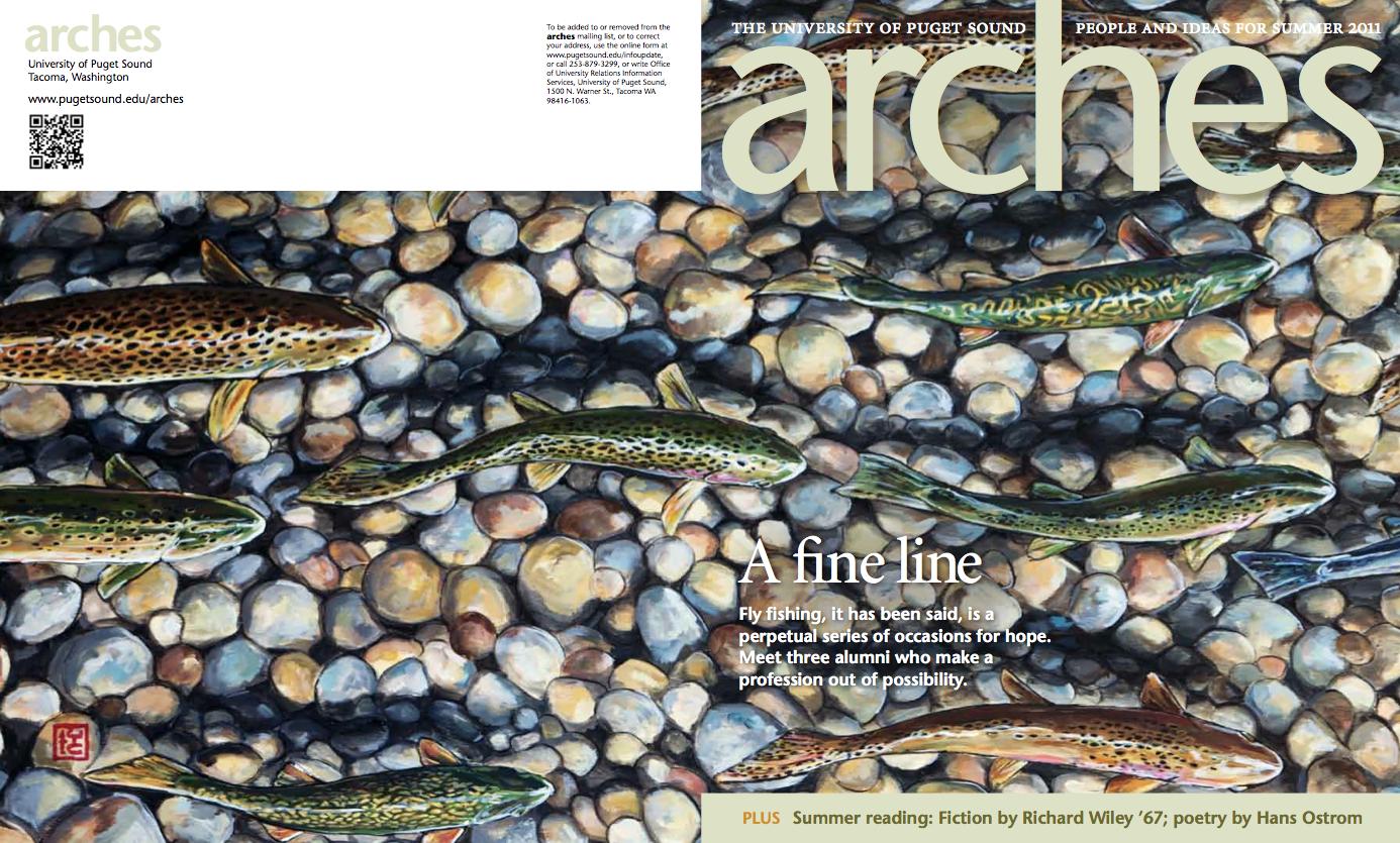 ARCHES MAGAZINE, HOOKED, SUMMER 2011