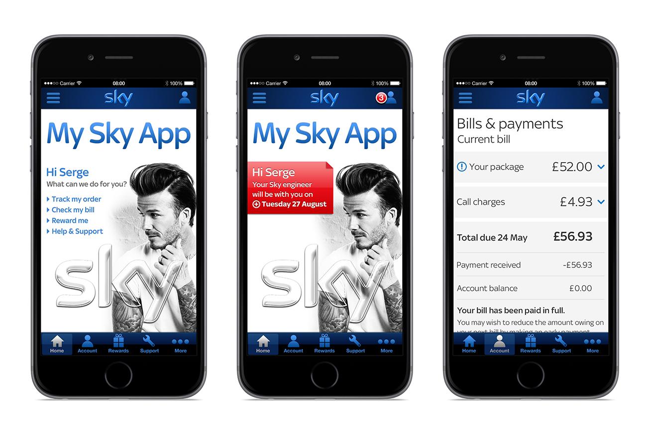 Sky-MySky-App