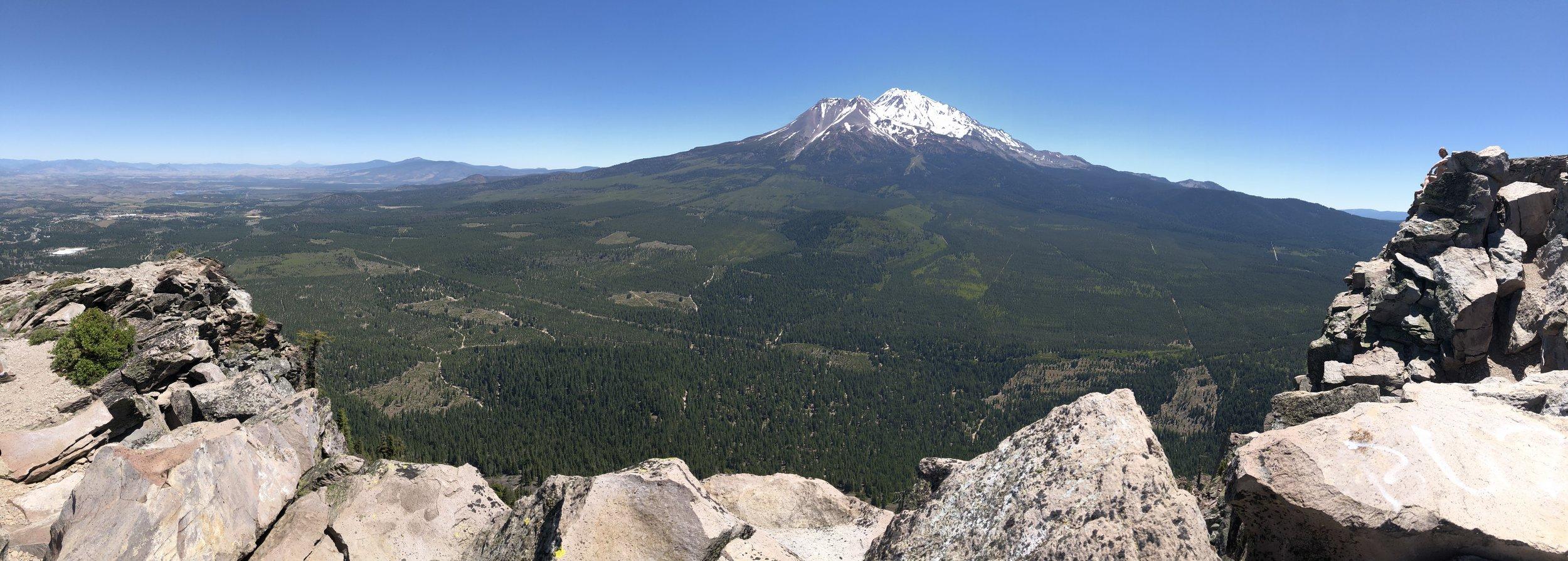 Black Butte summit view.