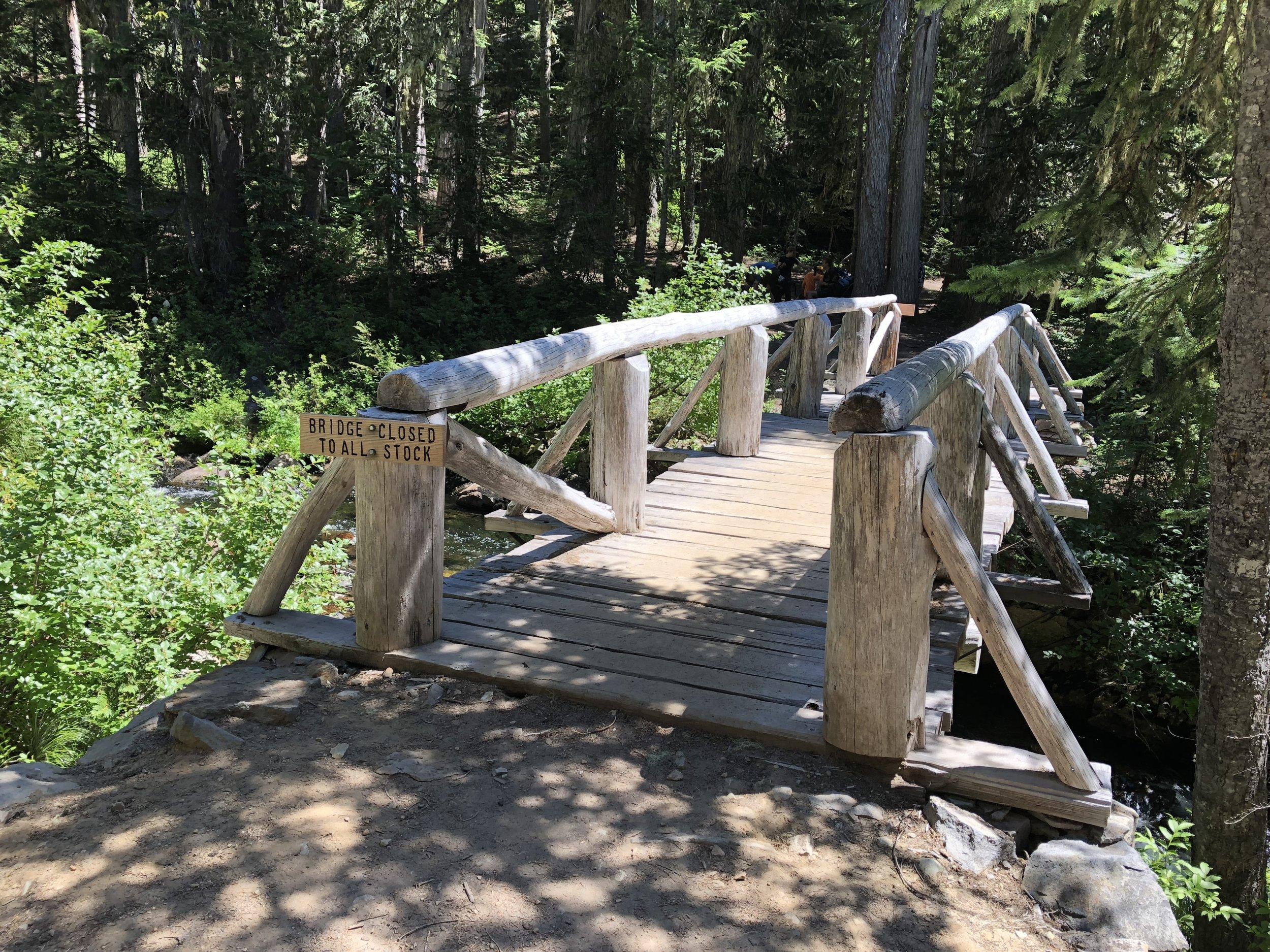 Bridge over Goat Creek.