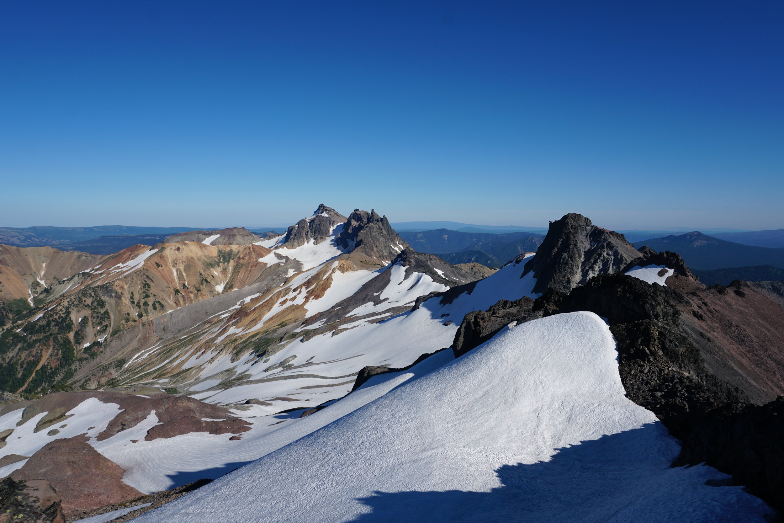 View from Old Snowy's summit.