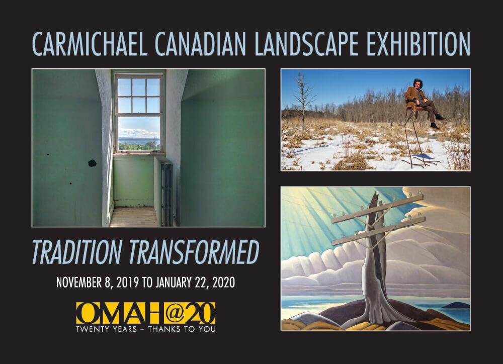 Carmichael Canadian Landscape Exhibition, announcement card