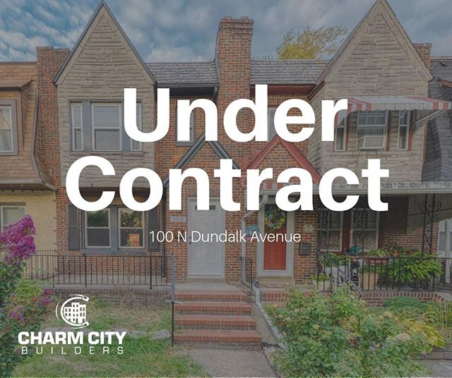 ❗ Under Contract Alert❗ 🏡 100 N Dundalk Ave, Baltimore MD 🎉 We are so excited for the new owners of this home! Keep looking out for new properties coming soon!