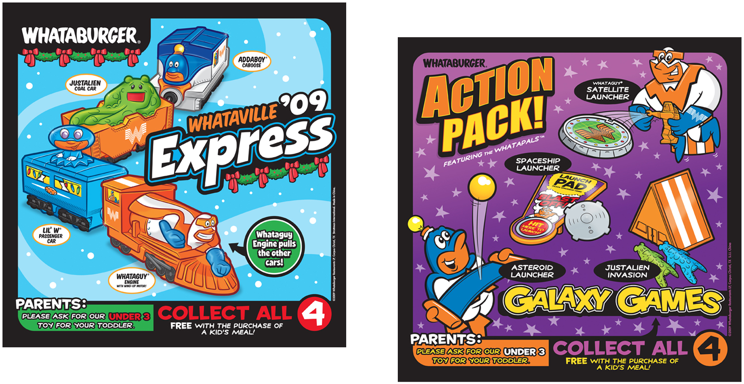 Kids Meal Designs and POP Signage