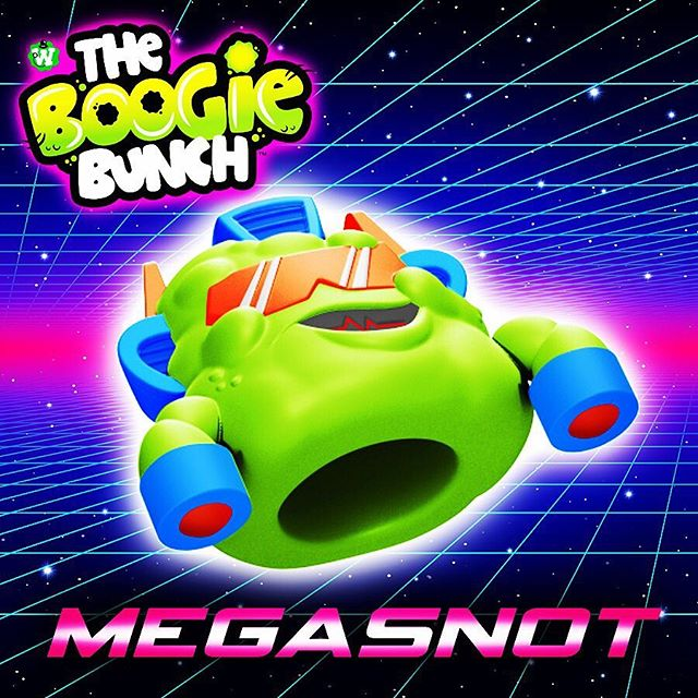 Megasnot!! #theboogiebunch #slime #slimetoy #toydesign #80stoys #transformers