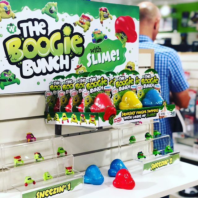 At the #atlantagiftshow with @theboogiebunch  Stop by @sandyrubenandassociates and say hi! - - #toydesign #boogertoy #slime #design #illustration