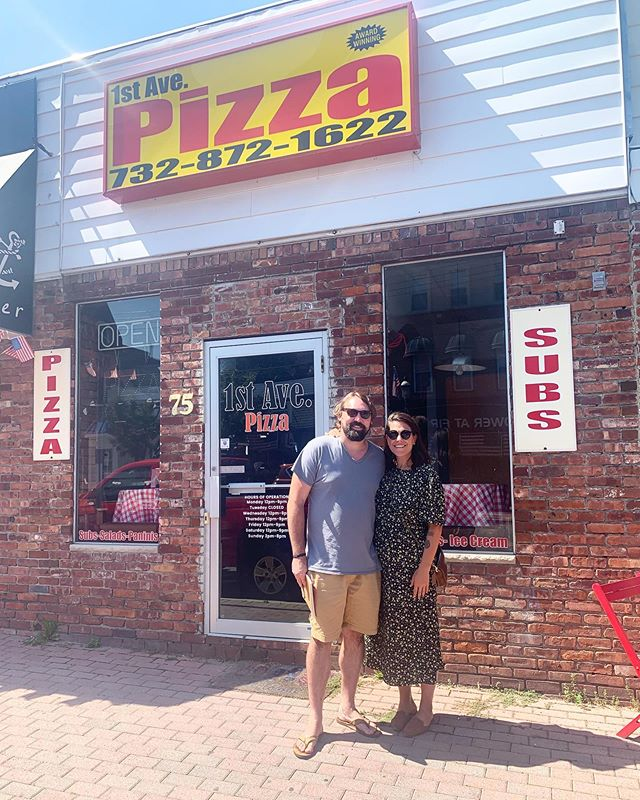 While all our friends are buying houses, we bought a pizza shop! 🍕 . We are so excited for the next chapter-Julio's Pizza Co. 🐾 . Many thanks to @lqsack & @englishproperties for their amazing work and advisement during the process! We also thank 1st Ave Pizza owners Dave & Ben for passing this opportunity to us. We look forward to being a part of the awesome community of Atlantic Highlands, NJ and can't wait to meet & feed you💕 . To follow our journey to opening, head to my story; SWIPE UP to add yourself to our mailing list at WWW.HEYITSJULIOS.COM and follow @heyitsjulios! Thank you for all the support! #heyitsjulios