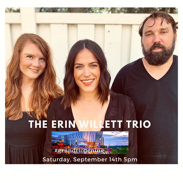 WE ARE BACK HOME IN GAITHERSBURG, MARYLAND NEXT SATURDAY! . Playing #GrandRioOpening on September 14th. Thrilled to be joining the incredible events all next weekend to celebrate @riolakefront! . We play on Saturday at 5pm! Free events and music all day/all weekend! More info in my story💕