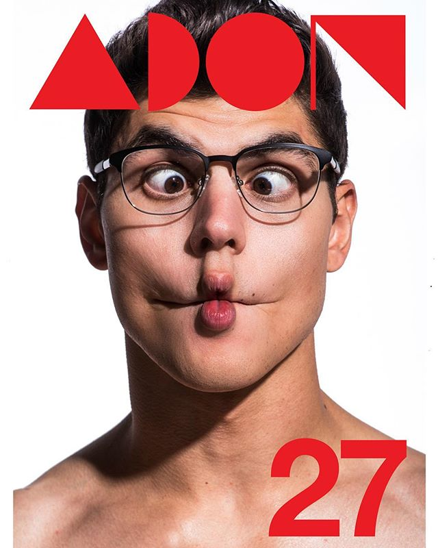 #RoyFireNewYork #Eyeglasses 🤘🏼🤓 @adonmagazine issue No. 27 – Back Cover - Staring model Christopher George ( @officialchristophergeorge ) Photography by Frank Louis ( @franklouisphoto ) – Editors Roy Fire ( @royfire7 ) & Tal Peer ( @peertal ) – #adon 27 is out Tuesday April 24 – www.adonmagazine.com 🤘🏼😜