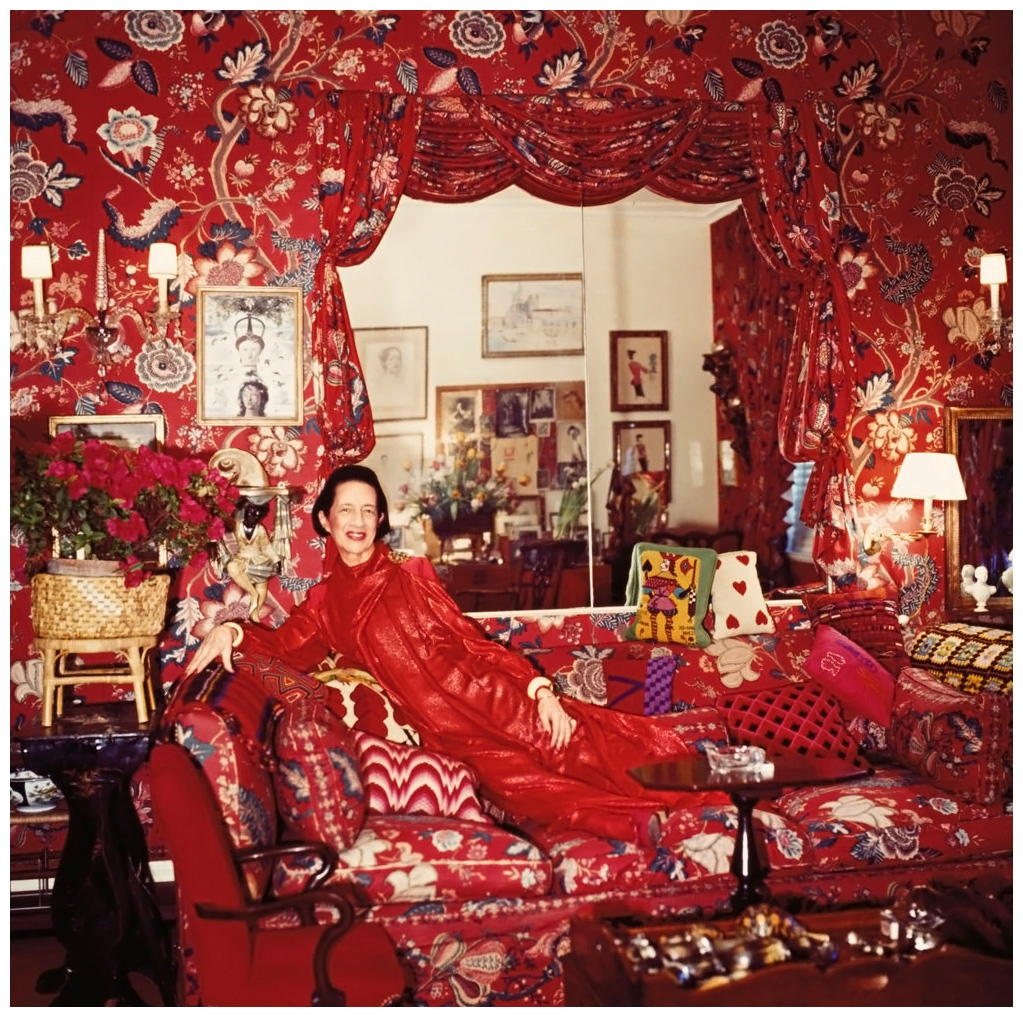 Horst P. Horst.  Untitled  (Diana Vreeland in her New York apartment), 1979
