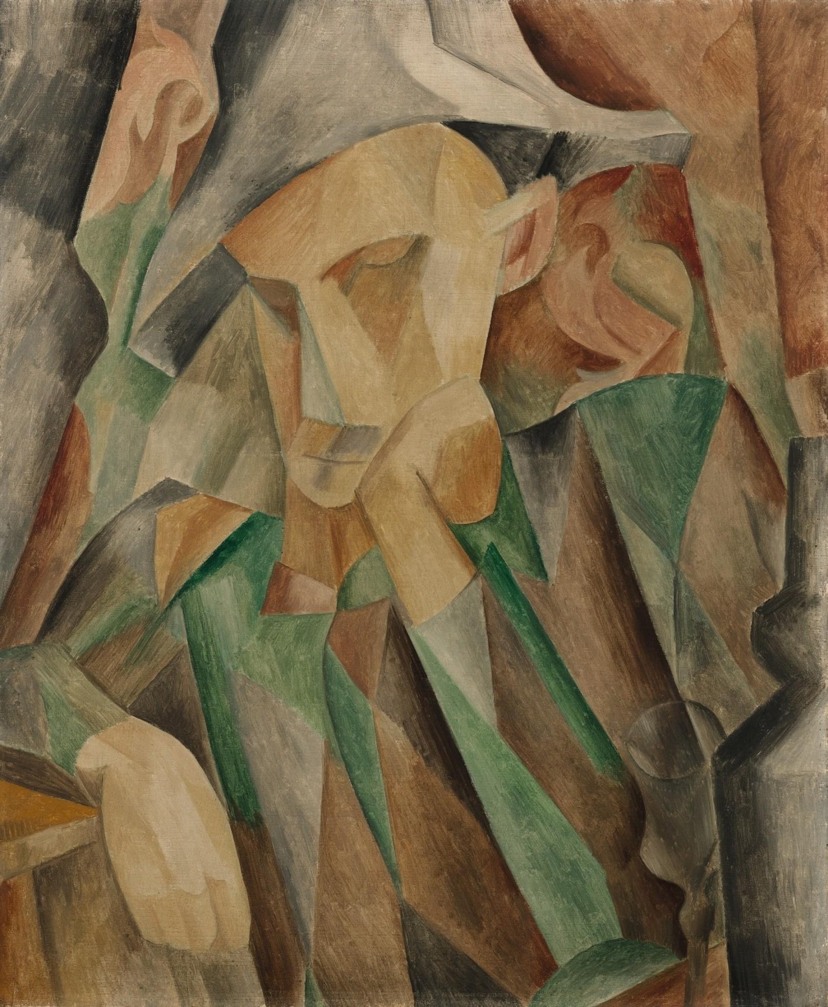 Pablo Picasso. Harlequin , 1909
