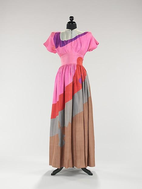 Gilbert Adrian. Dinner dress, 1944