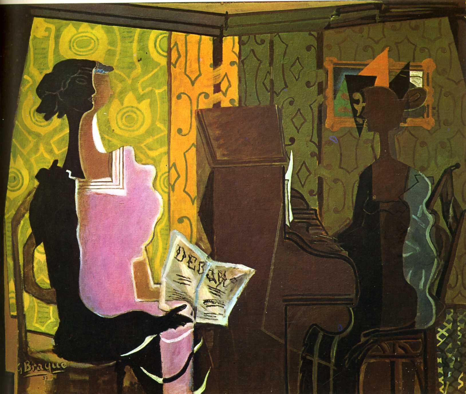 Geroges Braque. The Duet , 1937