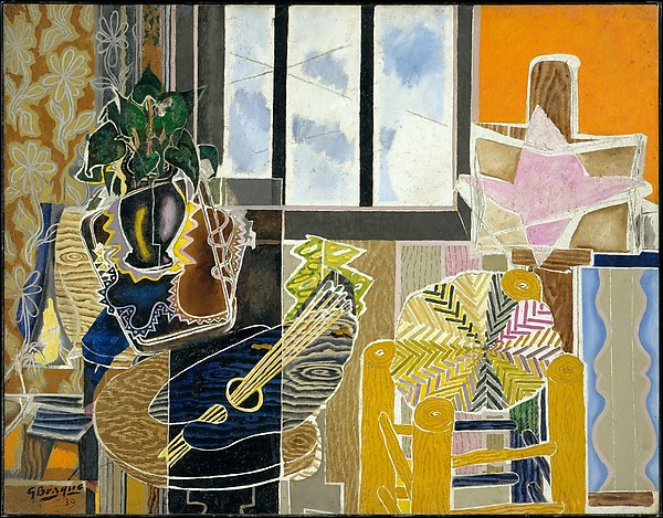 Georges Braque. The Studio (Vase before a Window) , 1939