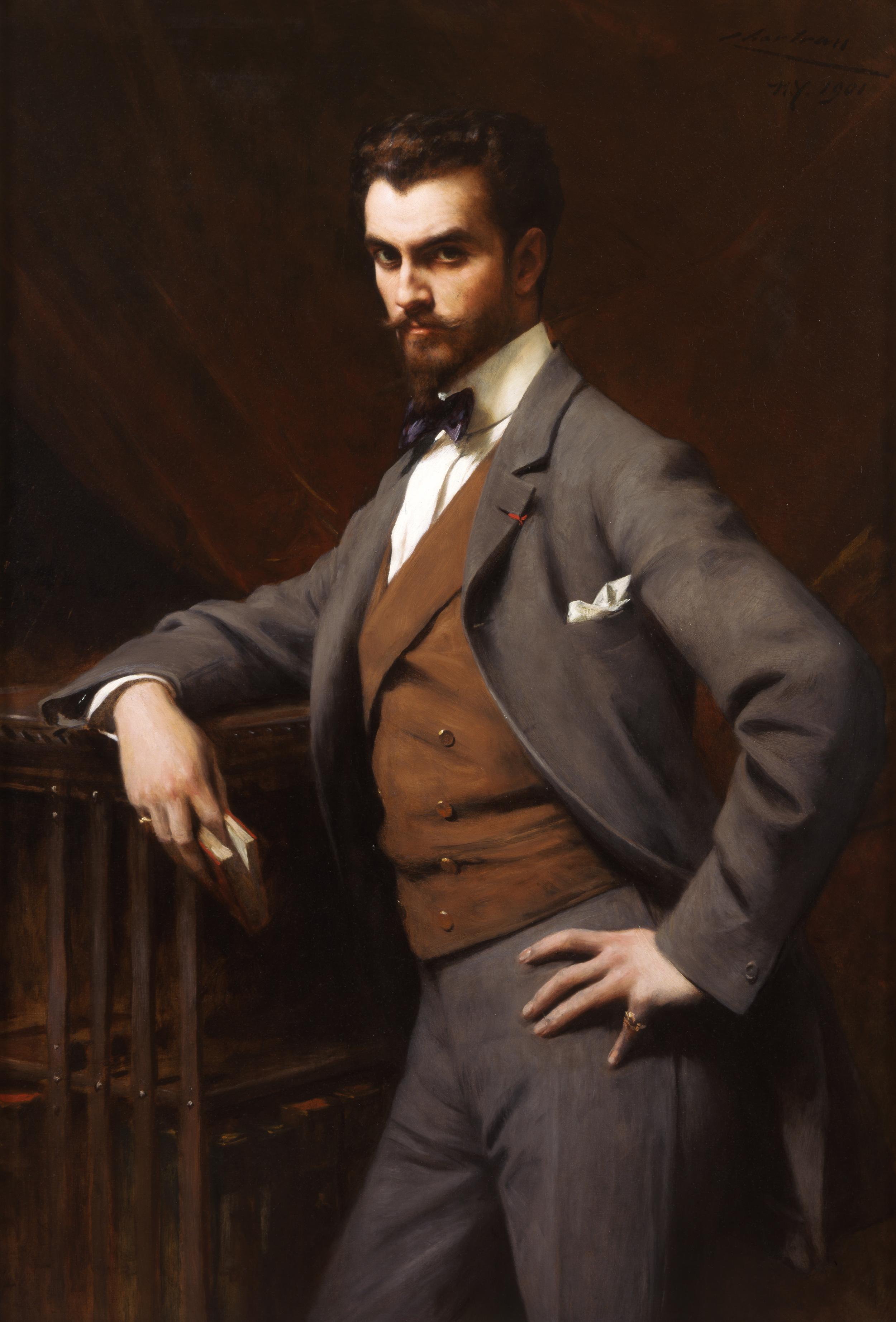 Théobald Chartran.  James Hazen Hyde , 1901