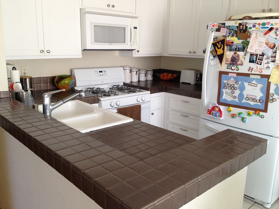 Interior Redesign DIY: Kitchen Countertop Quick Fix — The ...