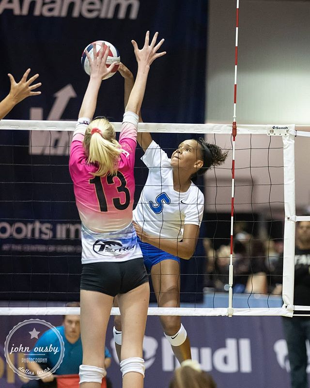 Go Kyndal! A few pics from the 14 open #GJNC19 final for #TAV14Black - follow link in profile. #volleyball @tavvolleyball #goTAV