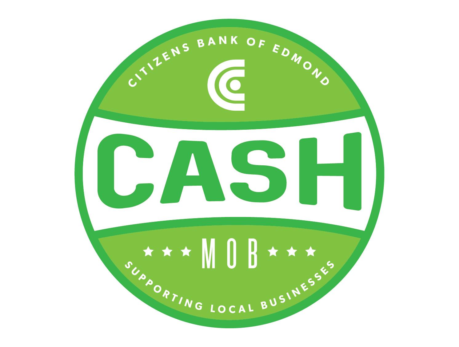 Citizens Bank of Edmond's Cash Mob
