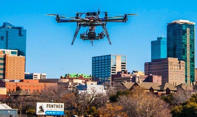 #2012 #cinestar8 #freeflysystems #skycraft #aerialphotography #droneporn #fortworth #tx