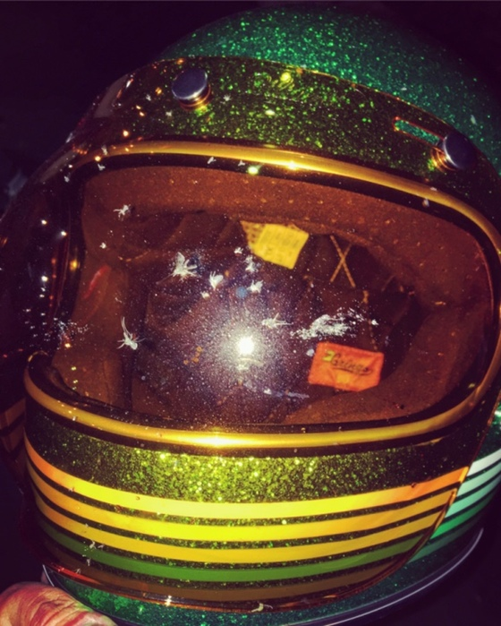 S/O to Biltwell for the helmets & face savers.