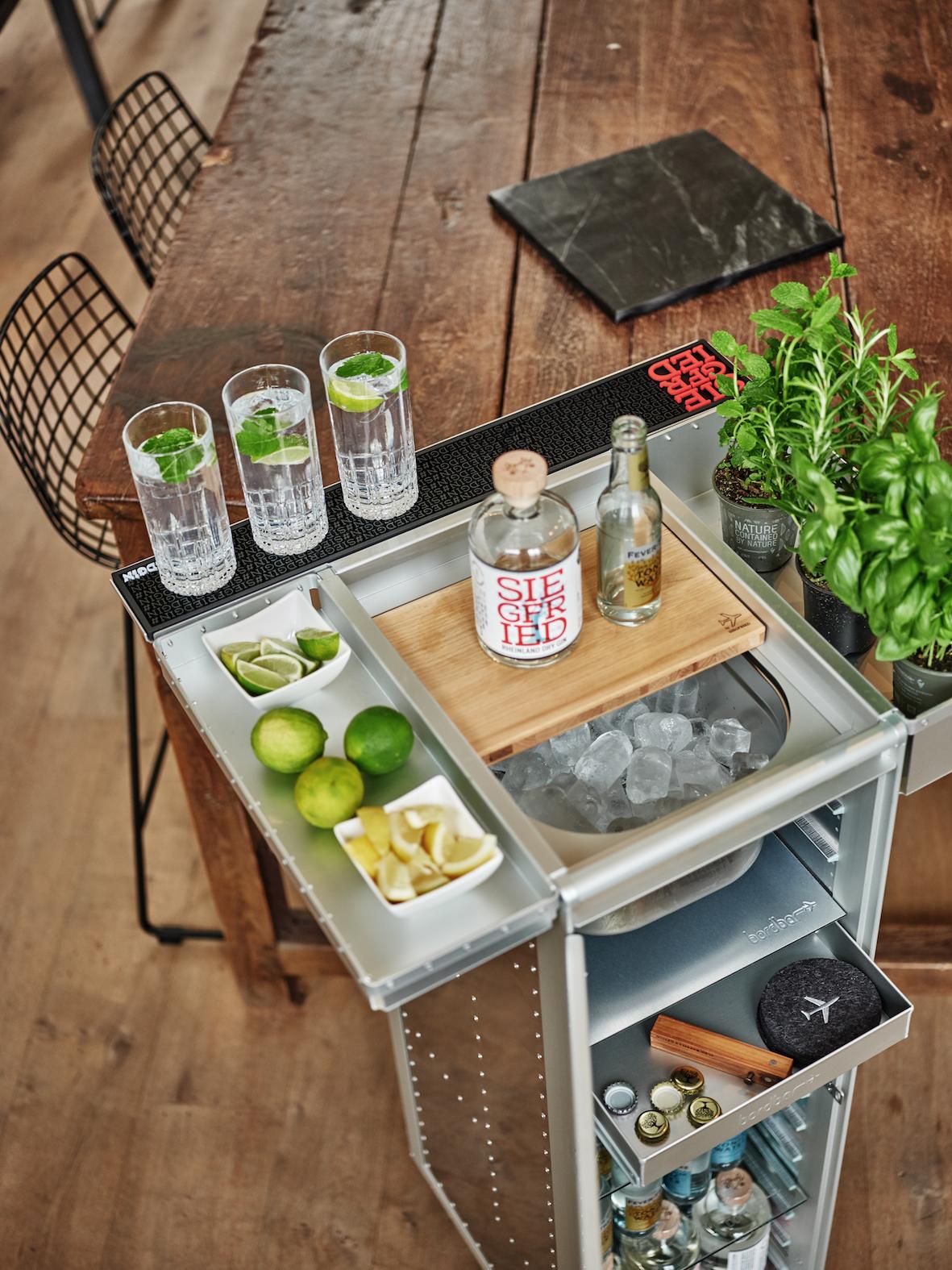 bordbar Gin Trolley
