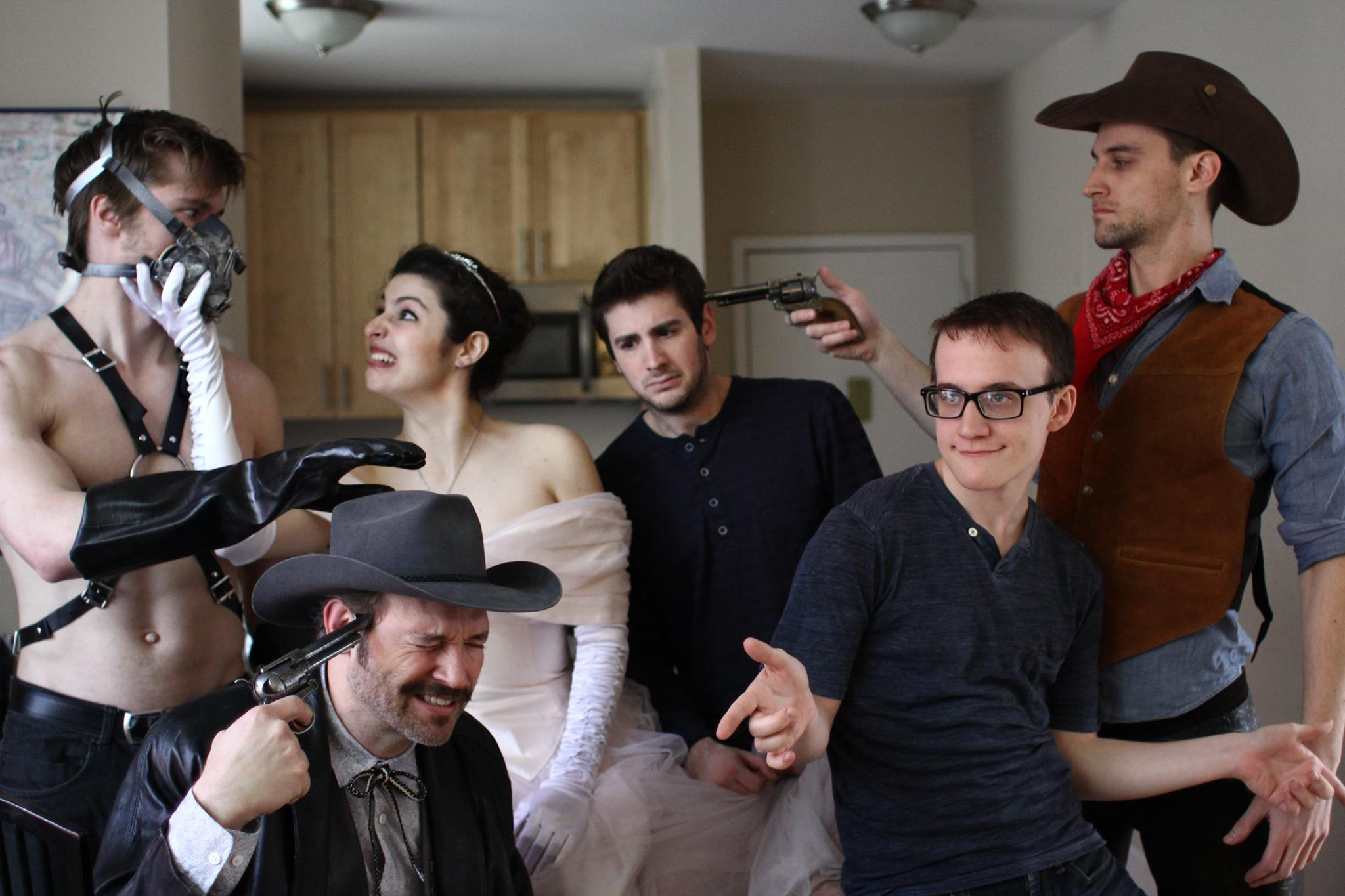 """""""My Gay Roomate: The Webseries""""    Created byAustin Bening and Noam Ash   Priscilla/Robyn (Melis Aker)  Photo: Miguel Herrera"""