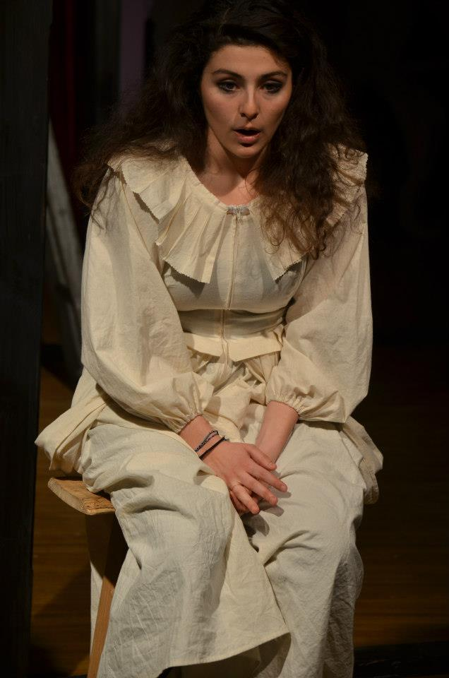 """""""Vinegar Tom"""" (Whistler in the Dark Theatre/Boston Center for the Arts) Directed by Mac Young  Betty (Melis Aker)"""