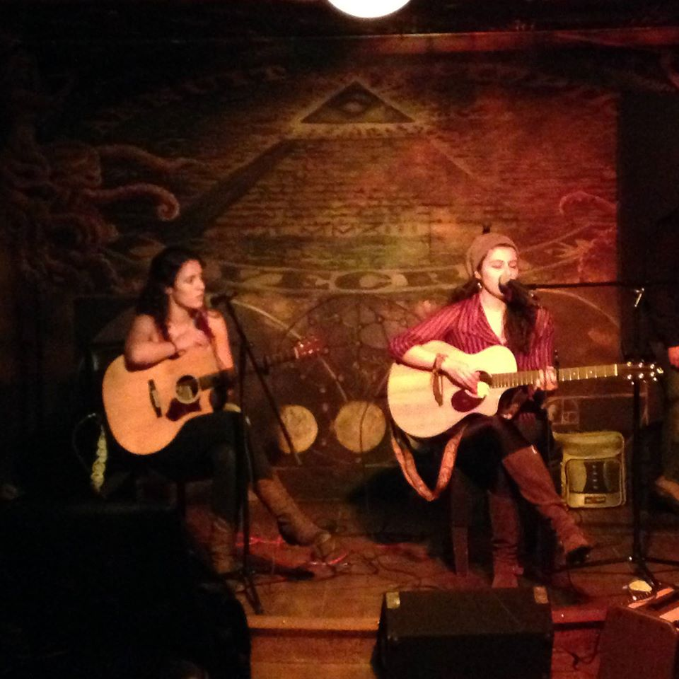 Helen McCreary and Melis Aker, live at Lovecraft, New York.
