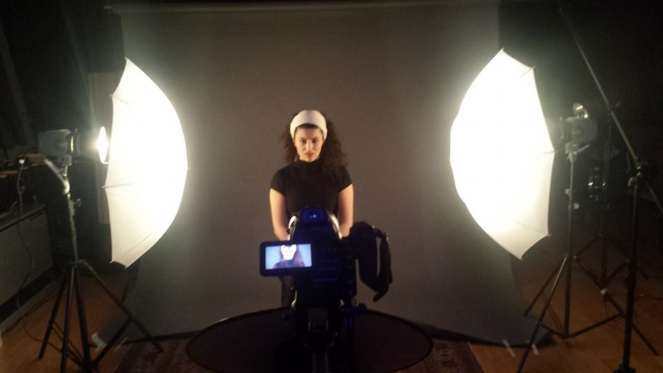 """Recording and shooting the music video for """"The Little Prince"""" for upcoming full length album at Studio 42, Brooklyn."""