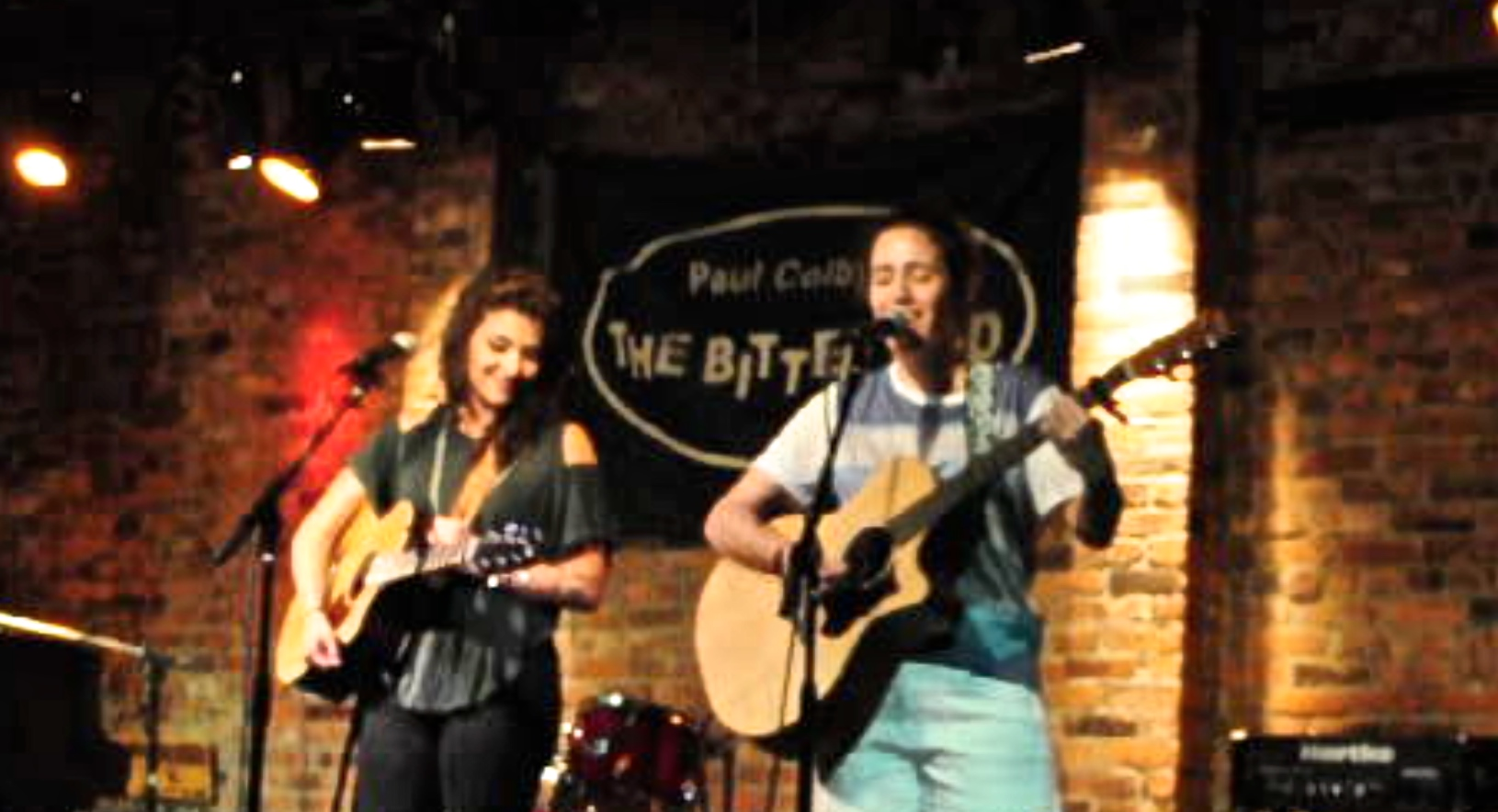 Melis Aker and Helen McCreary, live at The Bitter End, New York.