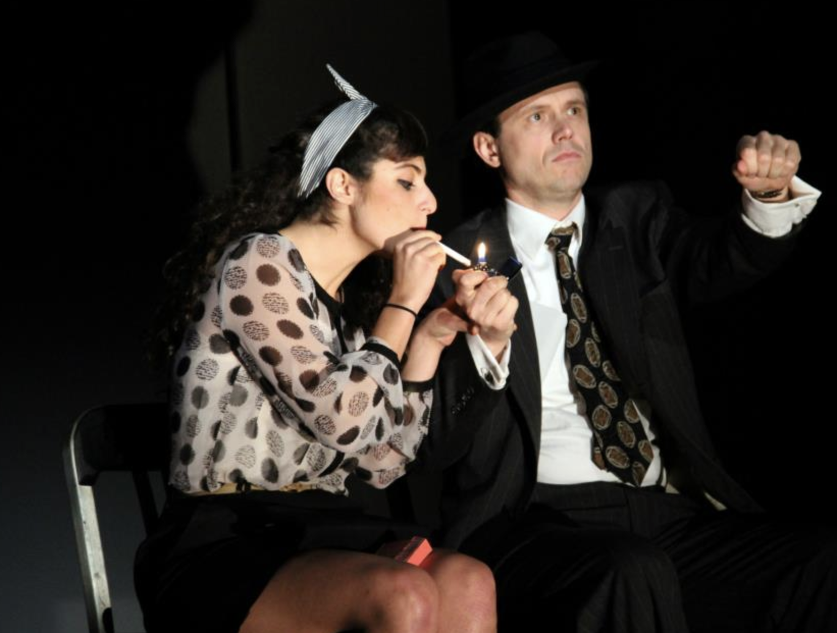 """Double Indemnity"" at Stoneham Theatre"