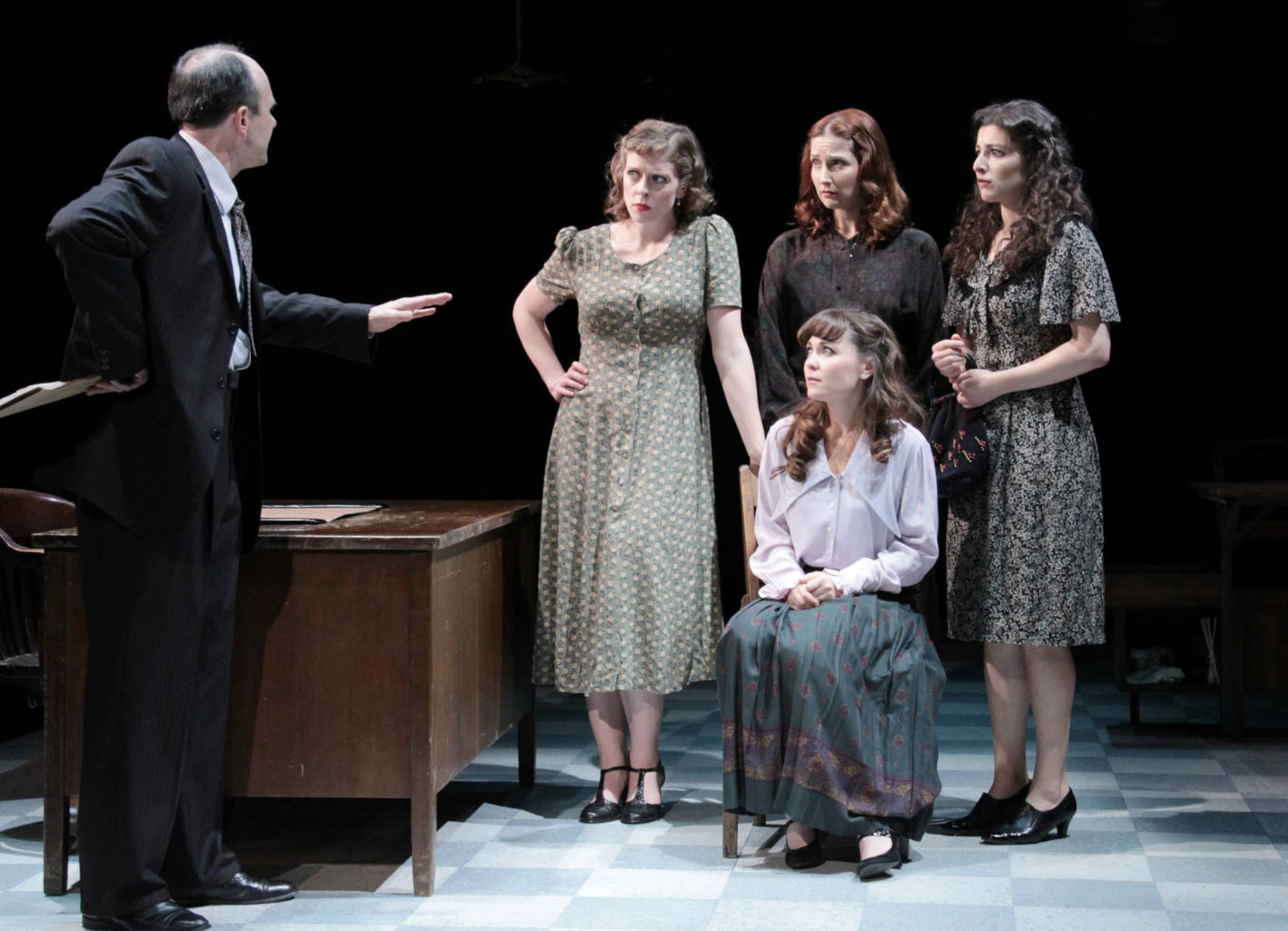"""These Shining Lives"" at Stoneham Theatre"