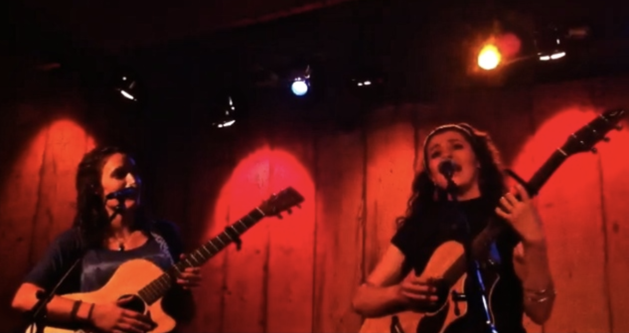 Helen McCreary and Melis Aker live at Rockwood Music Hall, Stage 3, New York