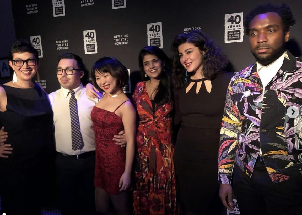 NYTW 2050 fellows at the 2019 gala