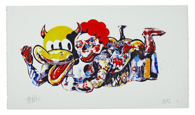 'Dont piggy back on culture' available through www.dangerfork.com