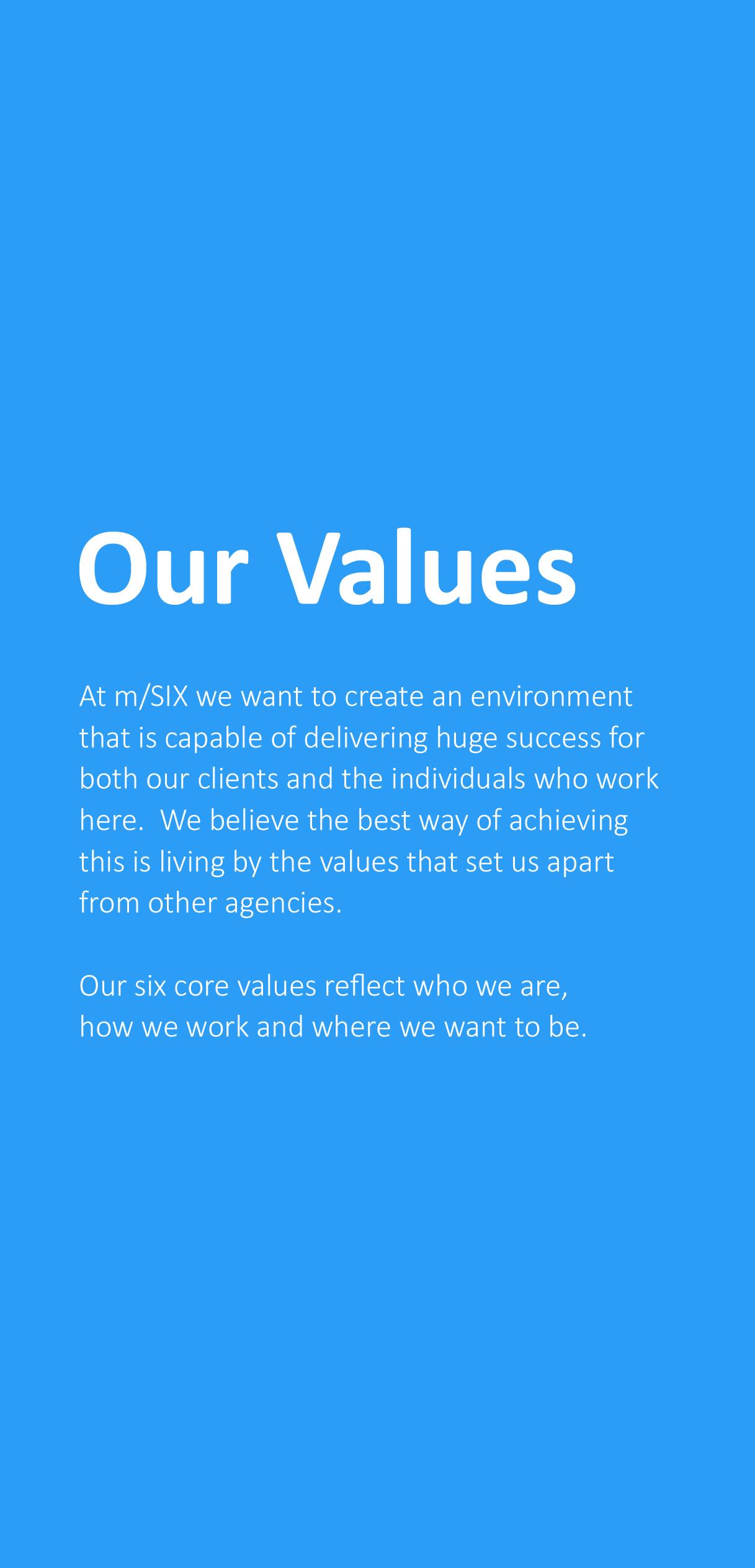 Values Pamphlet
