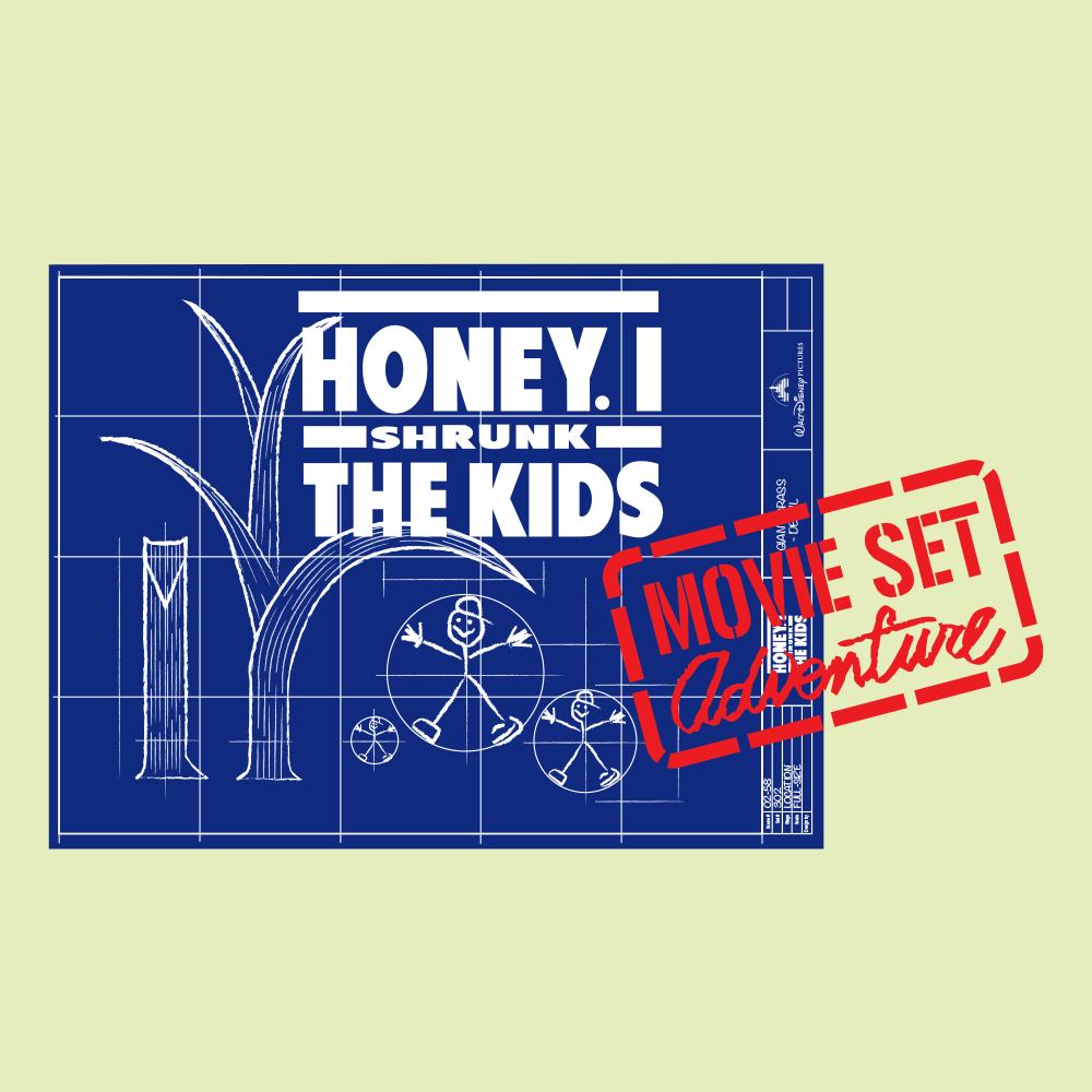 Honey, I Shrunk The Kids Movie Set Adventure