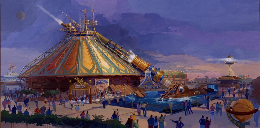 THE HIDDEN STORY IN DISCOVERYLAND'S ARCHITECTURE